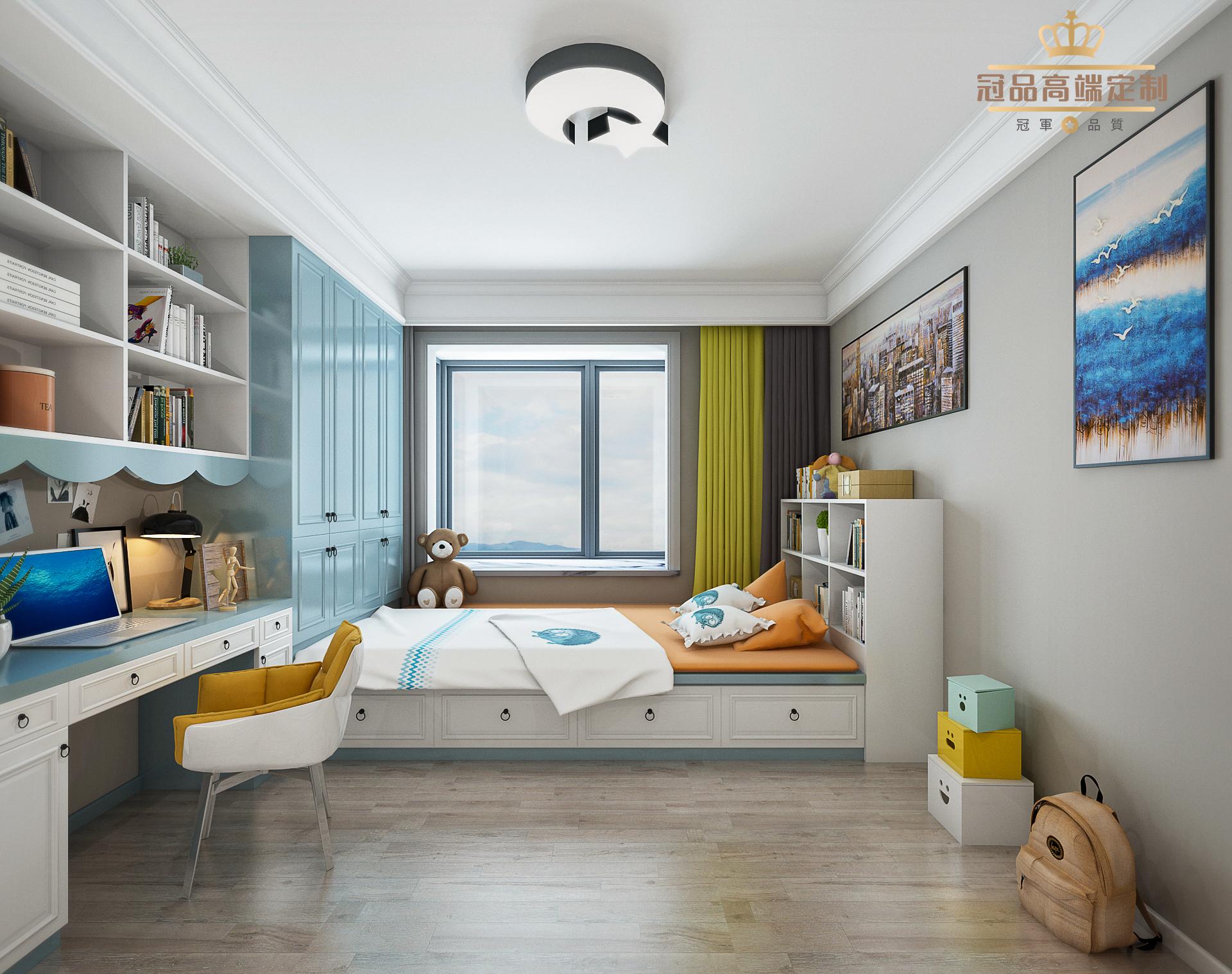 歐式簡約兒童房